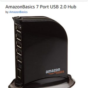 Amazon Basics 7 Port USB Hub