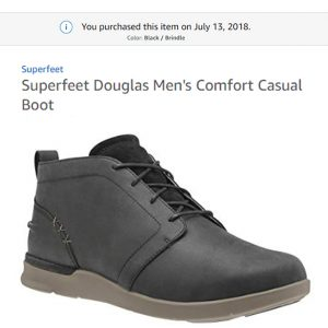 Superfeet Douglas Men's Comfort Casual Boot