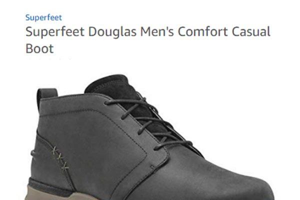 Superfeet Douglas Men's Comfort Casual Boot